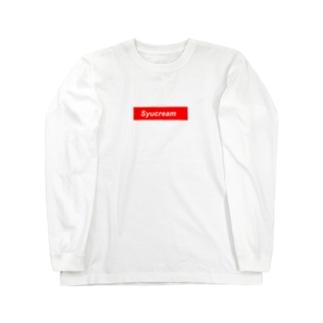 シュクリーム Long sleeve T-shirts