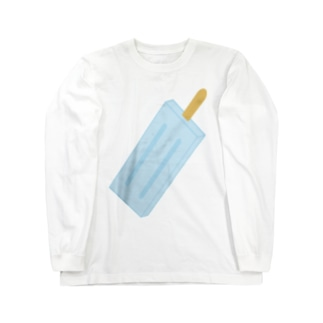 アイスけん Long sleeve T-shirts