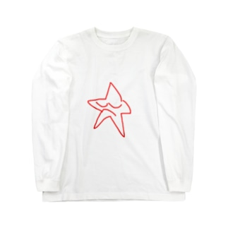 眠るお星様 Long sleeve T-shirts