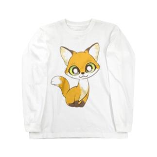コギツネ Long sleeve T-shirts