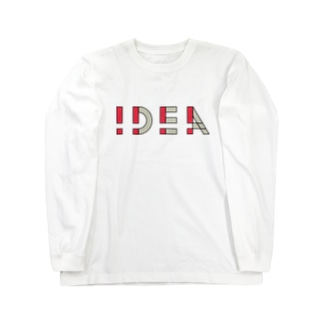 !DEA(アイデア) Long sleeve T-shirts