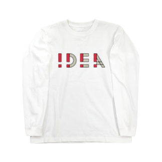 casestudylifeの!DEA(アイデア) Long sleeve T-shirts