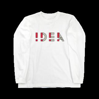 casestudylifeの!DEA(アイデア) Long sleeve T-shirts
