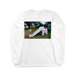 史上最高の公園 Long sleeve T-shirts