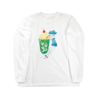メロンソーダガール Long sleeve T-shirts