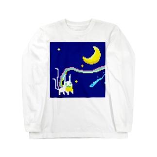 月どろぼう Long sleeve T-shirts