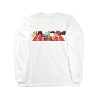pedro nekoiのMUNDOS 1 Long sleeve T-shirts