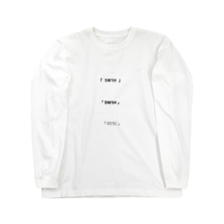 「 5W1H 」 Long sleeve T-shirts