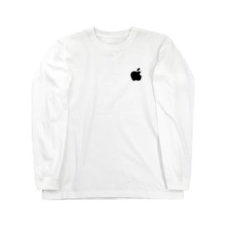ぱくぱくショップのりんご Long Sleeve T-Shirt