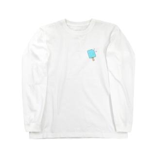 ソーダ アイス Long sleeve T-shirts