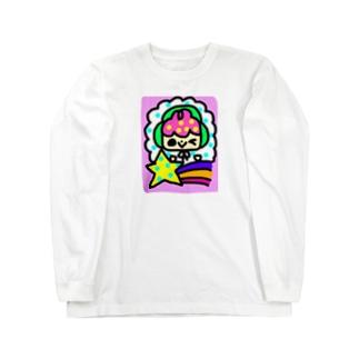 ソラソラと流れ星 Long sleeve T-shirts