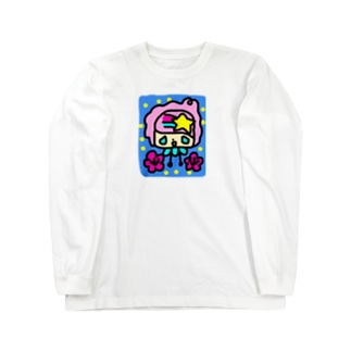 スターボーイと花 Long sleeve T-shirts