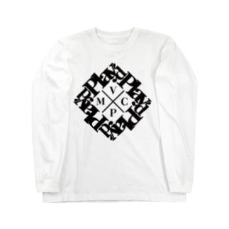 play'd BLACK Long sleeve T-shirts