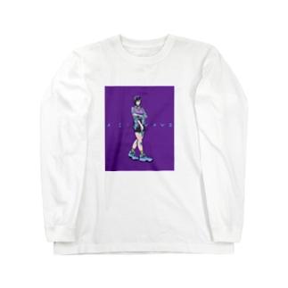 アインさん Long sleeve T-shirts