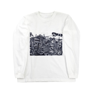 no.19 Long sleeve T-shirts