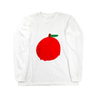 りんご(次男) Long sleeve T-shirts