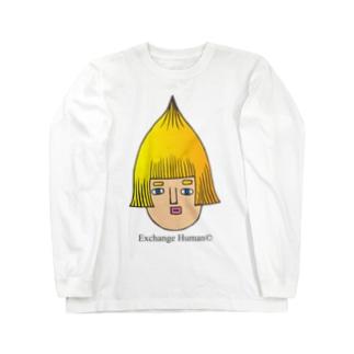 とんがりコビート Long sleeve T-shirts