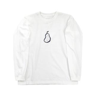 ナシ Long sleeve T-shirts