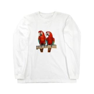 金剛カップル Long sleeve T-shirts