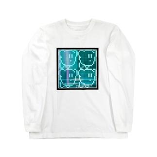 サイバーカー〇ィ Long sleeve T-shirts