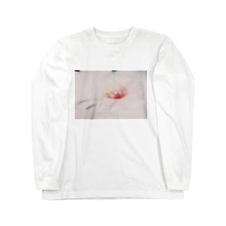 ピンボケかき氷 Long sleeve T-shirts