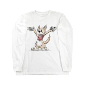 ドローイング・クッキー Long sleeve T-shirts