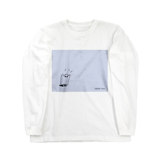 おばけくん。 Long sleeve T-shirts
