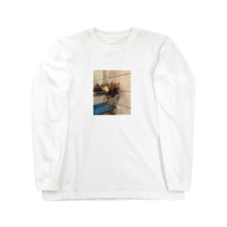 造花 Long sleeve T-shirts