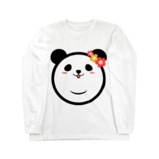 Panda Lele&Hehe Long sleeve T-shirts