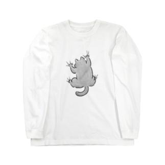 yojiyoji灰猫 Long Sleeve T-Shirt