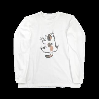 ぐぅぐぅまみれのyojiyoji三毛猫 Long sleeve T-shirts