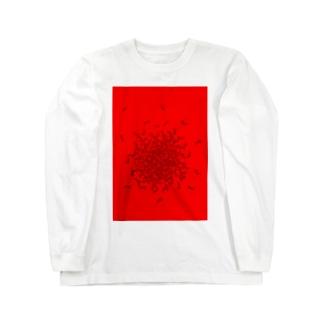 【カラマル】コンガラガル画005 Long sleeve T-shirts