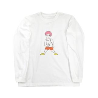 ハラヘッタ... Long sleeve T-shirts