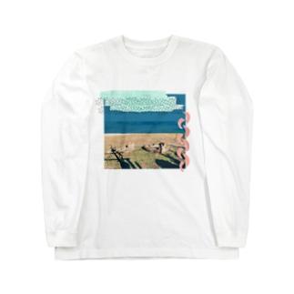 チーター Long sleeve T-shirts