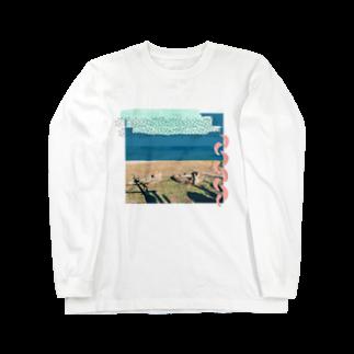 こだまちひろのチーター Long sleeve T-shirts