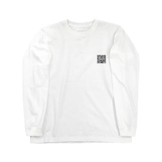 すれ違いQR Long sleeve T-shirts