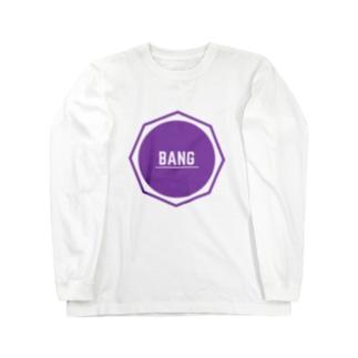 バンT(紫) Long sleeve T-shirts