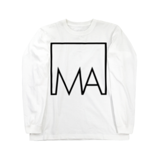 モザイクアーツ OFFICIAL SHOP  のデカプリントロゴ collar.0 Tシャツ Long sleeve T-shirts
