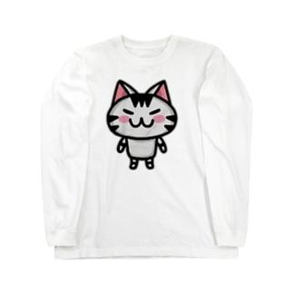 ボンcolor Long sleeve T-shirts