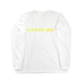 胃腸炎(Y) Long sleeve T-shirts