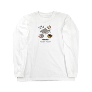 幻想水系branch byいずもり・ようのMEKONG! Long sleeve T-shirts