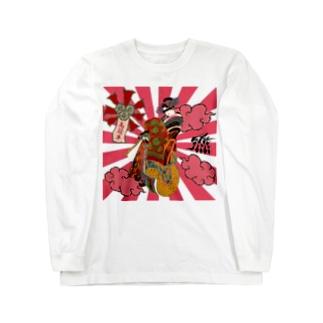 高飛車(メルヘン) Long sleeve T-shirts