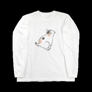 ぐぅぐぅまみれのhunbaru三毛猫 Long sleeve T-shirts