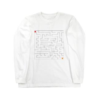 迷路 Long sleeve T-shirts