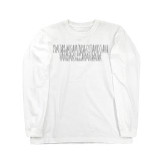 「百人一首 24番歌 菅家」カナクギフォントL Long sleeve T-shirts