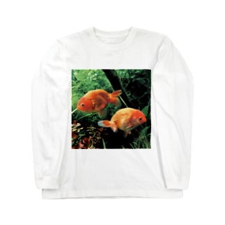 らんちゅう Long sleeve T-shirts