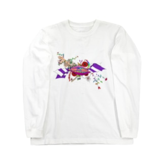 不気味な物語 Long sleeve T-shirts