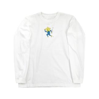 ナガレボシオ Long sleeve T-shirts