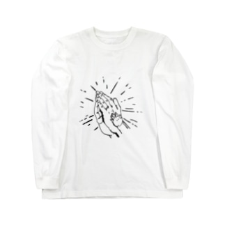 祈り Long sleeve T-shirts