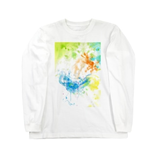 WaterArt_Pop002 Long sleeve T-shirts